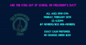 Presidents Day Open Gym - Made with PosterMyWall